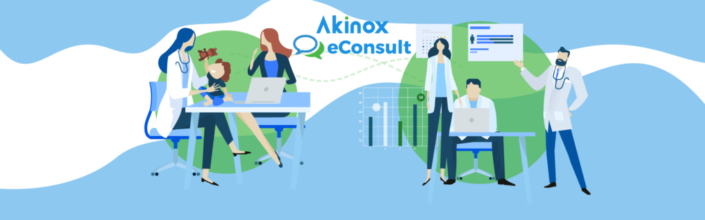 Akinox eConsult in Study