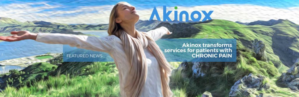 Akinox transforms services for patients with chronic pain